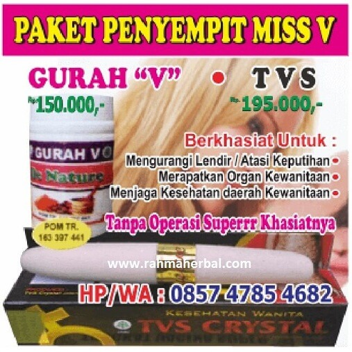 Paket Penyempit Miss V Rapet Luar-Dalam